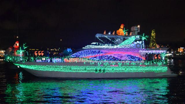 Parade of Lights boat