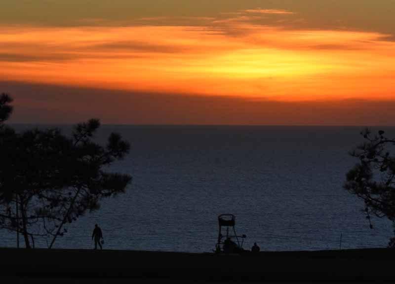 Sunset at Torrey Pines