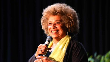 Angela Davis spoke to 1,900 people as a lecture series at Southwestern College. Photo by Chris Stone