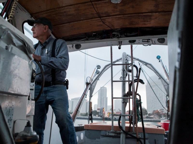 Commercial fisherman Phil Harris