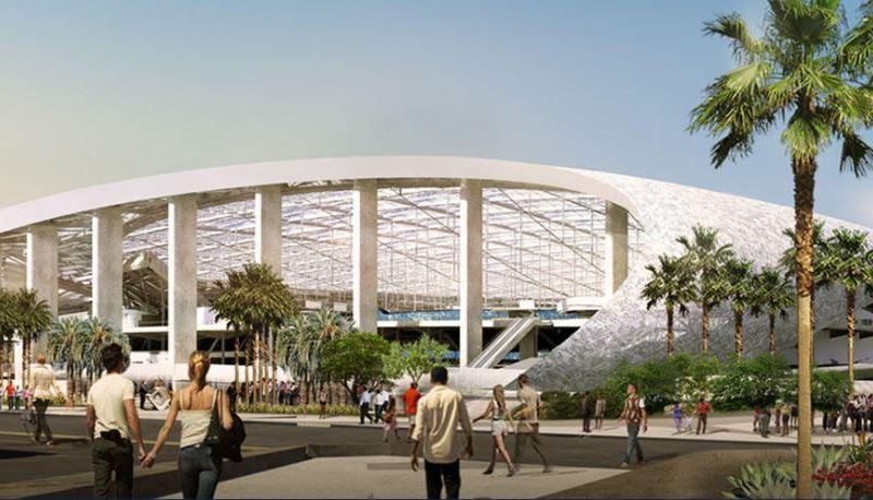 Chargers' Inglewood stadium