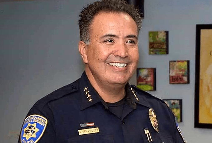 San Diego Unified School District Chief Michael Marquez. Photo: San Diego Unified School District Police Department/Facebook
