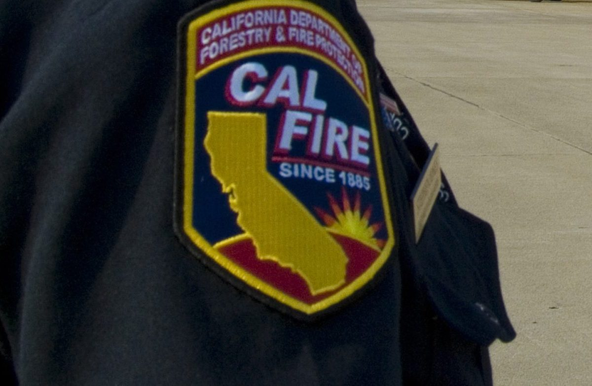 Cal Fire Patch