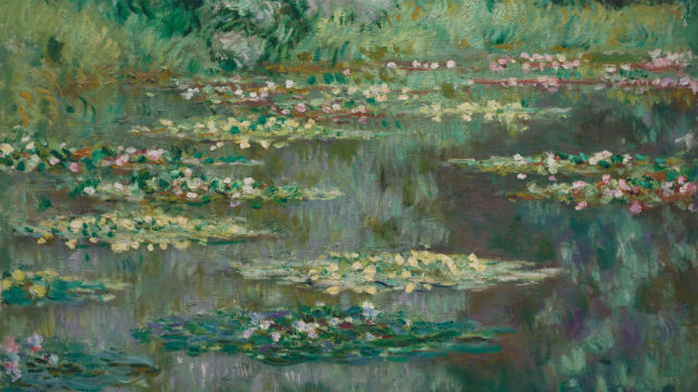 "Claude Monet's ""The Water Lily Pond,,"" painted in 1904. Courtesy Denver Art Museum"