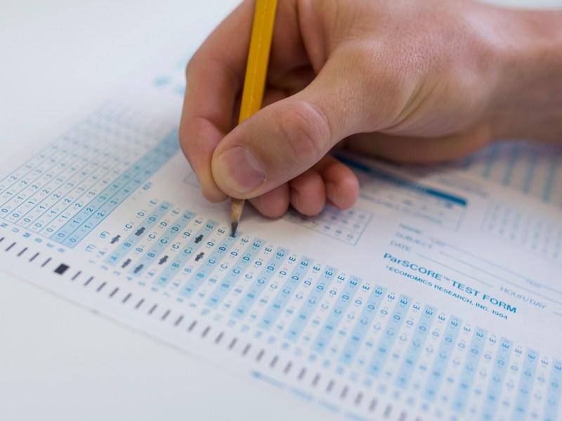 More than 64,500 AP tests were taken in San Diego County last year. Megan Wood, inewsource