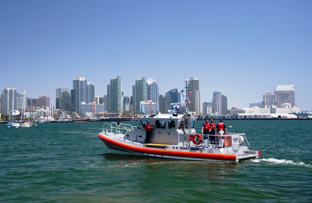 Coast Guard 45-foot response boat