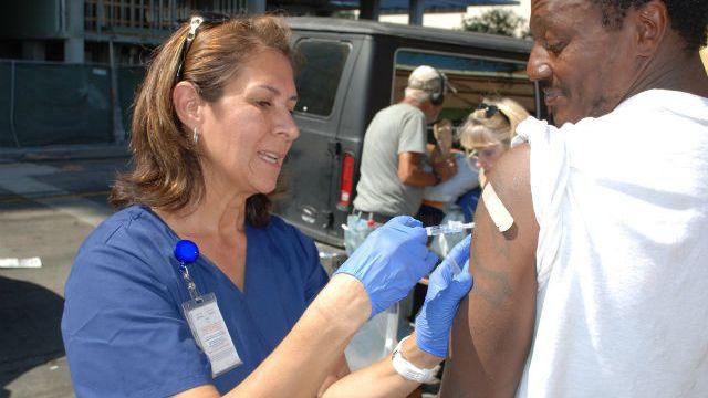 Hepatitis A vaccination
