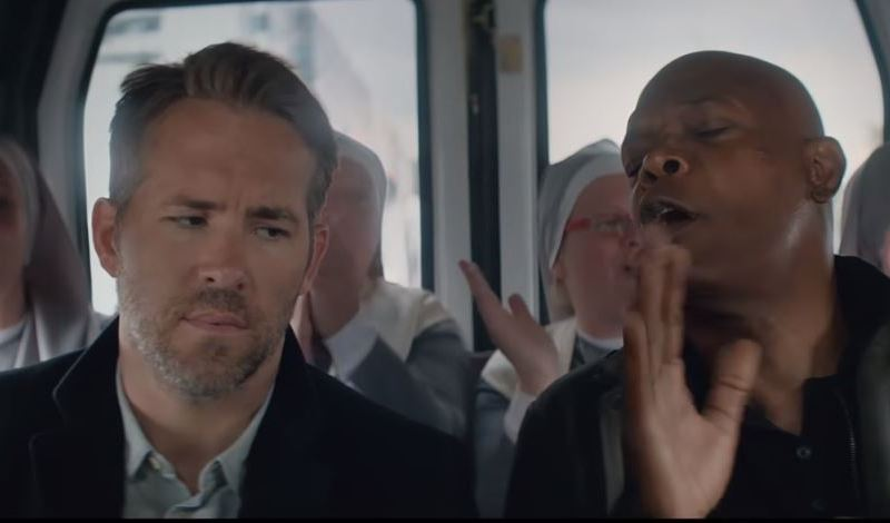 "Scene from ""Hitman's Bodyguard"""