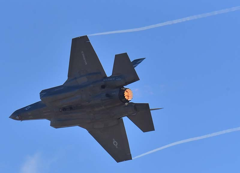 The F-35B Lightning II