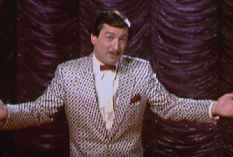 "Robert DeNiro in ""The King of Comedy"""