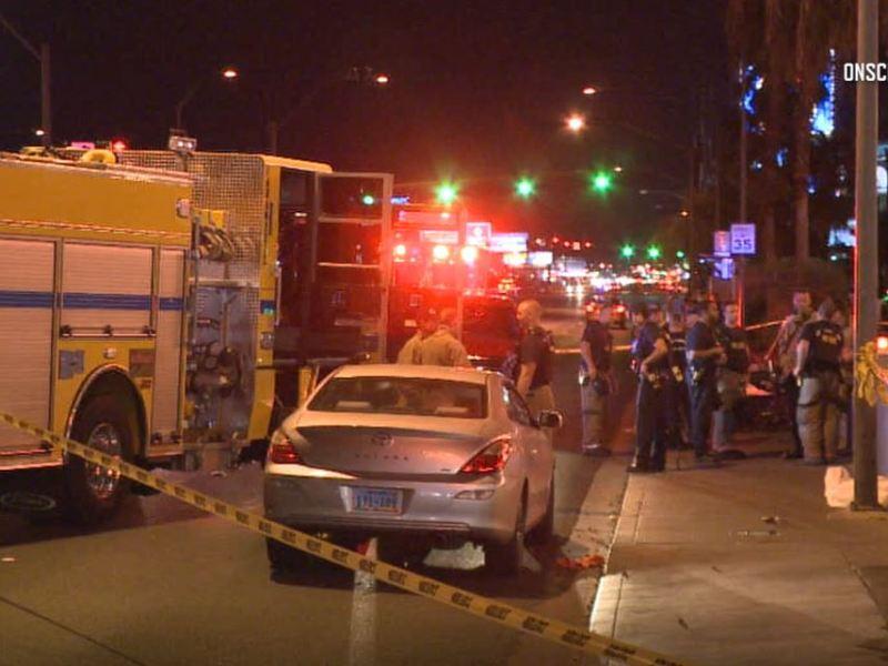Emergency crews in Las Vegas