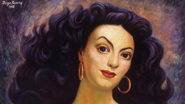"Diego Rivera's ""Portrait of Maria Felix."""