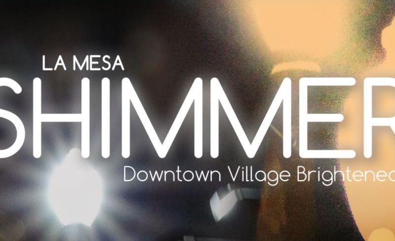 La Mesa Shimmer flyer