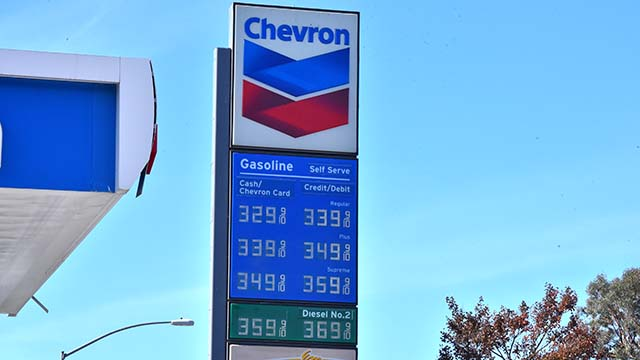 Gas prices in San Diego