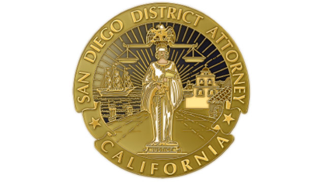 San Diego district attorney seal