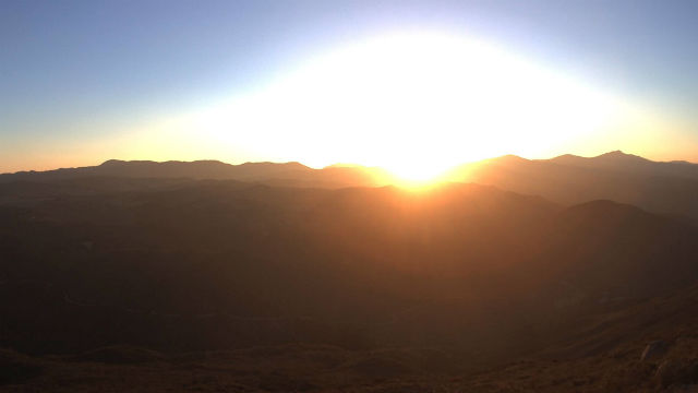 Sunrise from Big Black Mountain