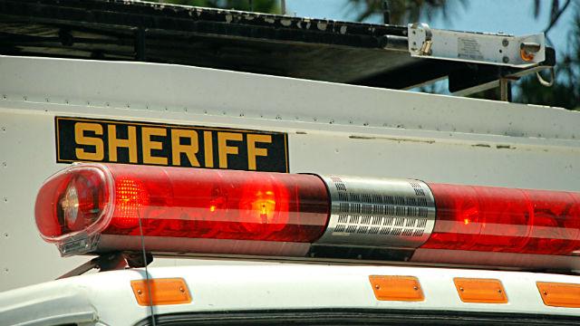 Sheriff's vehicle
