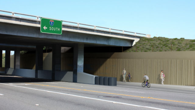 Rendering of Santa Fe Drive improvements