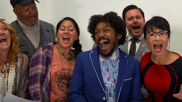 Cast of Beachtown