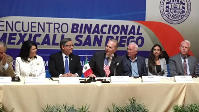 San Diego and Mexicali mayors