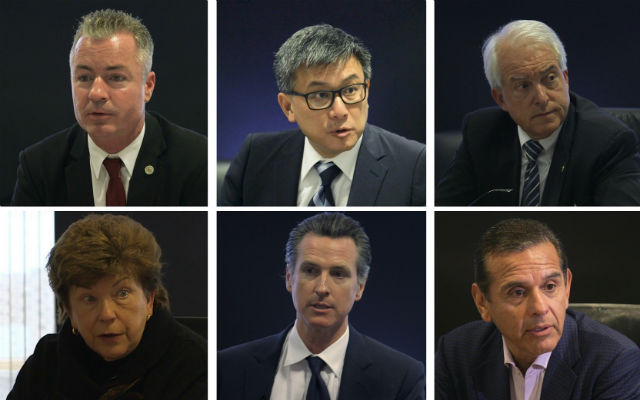 California gubernatorial candidates