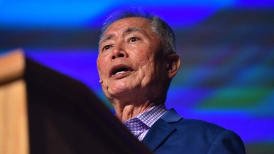 George Takei spoke about Japanese-American internment, being gay and President Donald Trump.