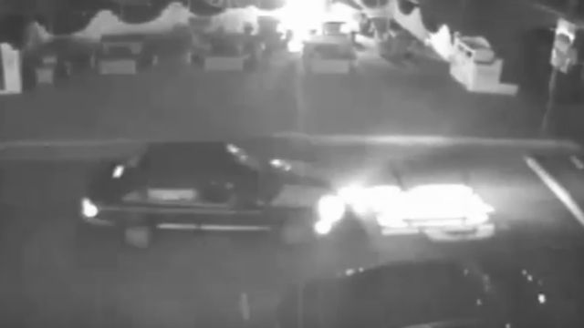 Suspected hit-and-run vehicle