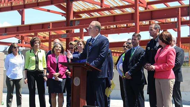 Mayor Kevin Faulconer announces proposed San Diego city budget for fiscal 2019.