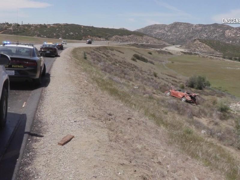 Descanso Border Patrol Crash