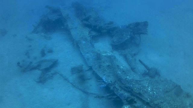 B-24 wreckage