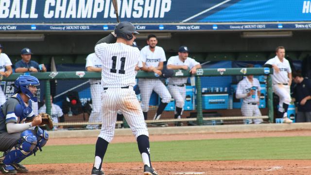 Justin Beck USCD baseball