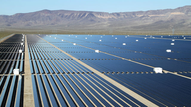 Copper Mountain solar facility