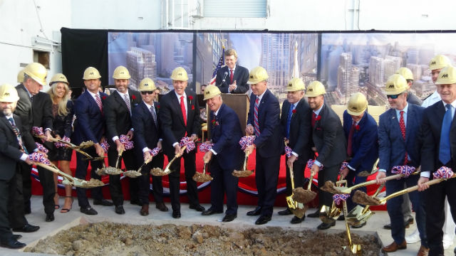 Groundbreaking for Manchester Pacific Gateway
