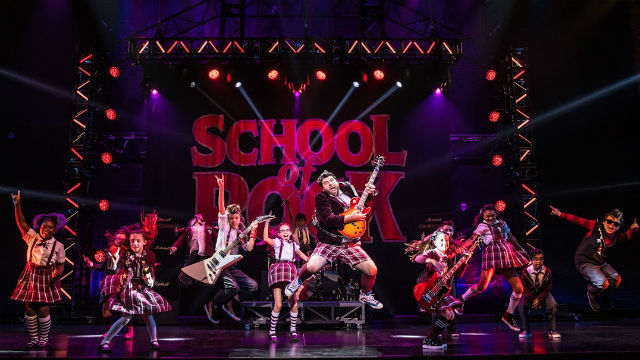 """Cast of """"School of Rock"""""""