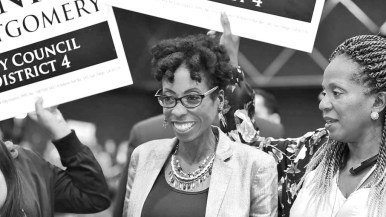 District 4 candidate Monica Montgomery was barely trailing incumbent San Diego Councilwoman Myrtle Cole.