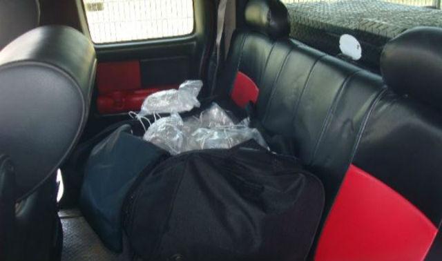 Duffel bag full of meth