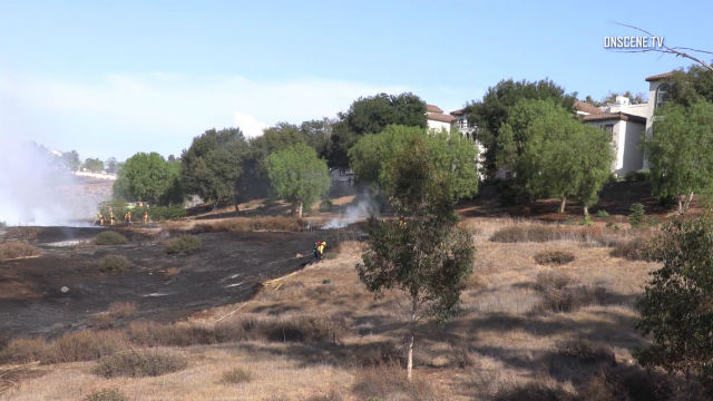 Rancho Bernardo brush fire