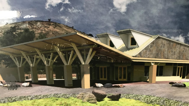 Rendering of ranger station
