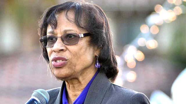 District E Trustee Sharon Whitehurst-Payne made original proposal for school board member term limits.