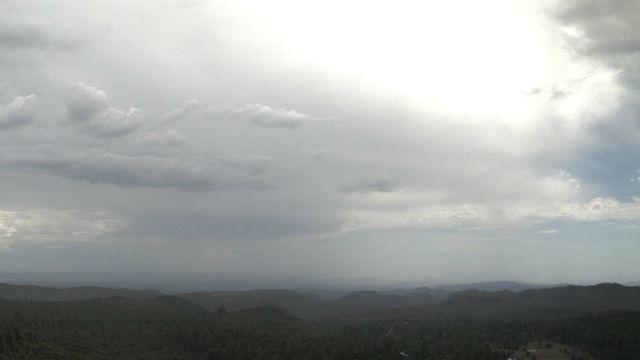 Thunderstorm over Mt. Laguna
