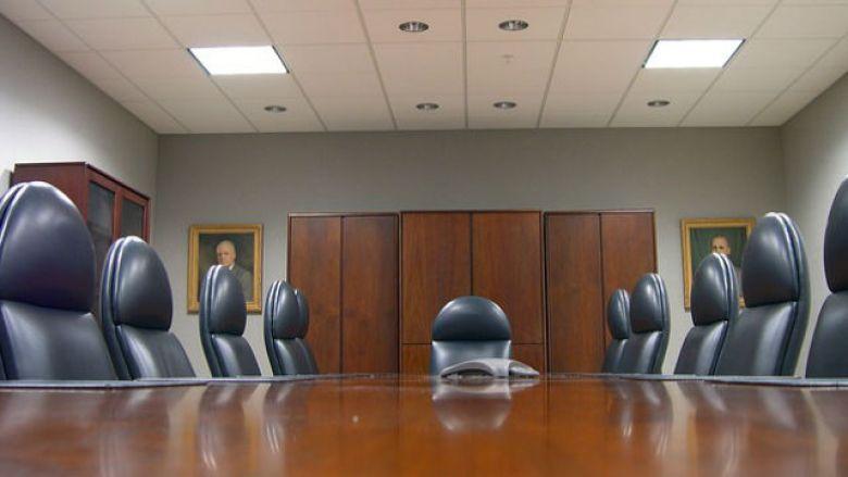 Company meeting room