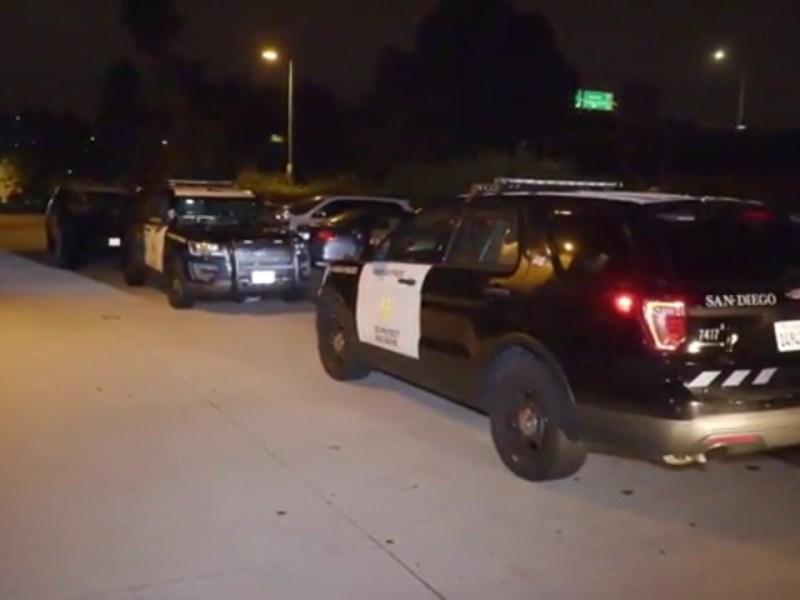 San Diego Police Cruisers