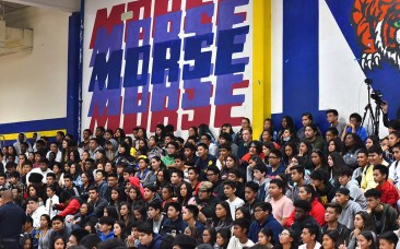 Morse, in San Diego's Skyline Hills neighborhood, boasts a very diverse student body.