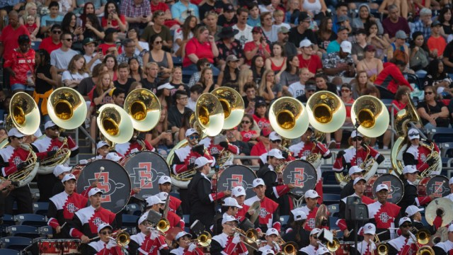 San Diego State college band