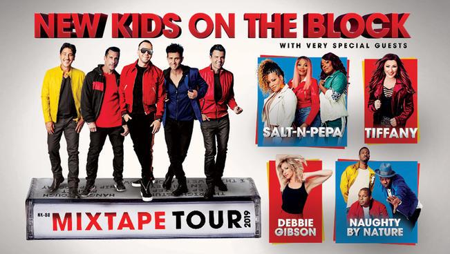 New Kids on the Block MixTape Tour