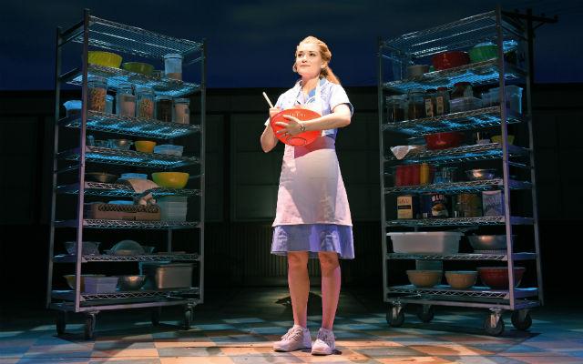 """Christine Dwyer as Jenna in """"Waitress"""""""