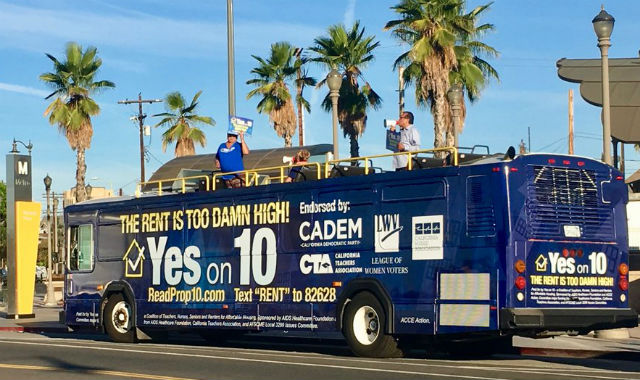 Yes on 10 bus