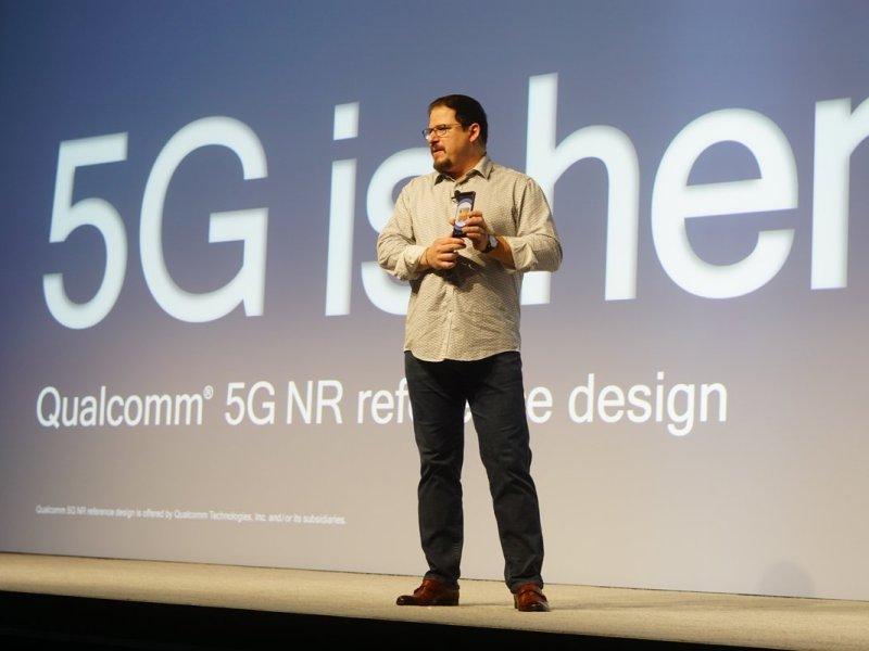 Christiano Amon announces the Snapdragon 855 Mobile Platform