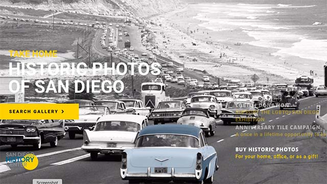 Image from San Diego History Center website.