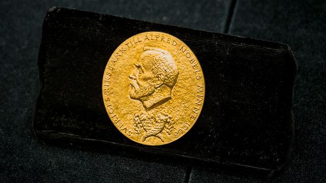Professor Harry Markowitz' Nobel Prize medal